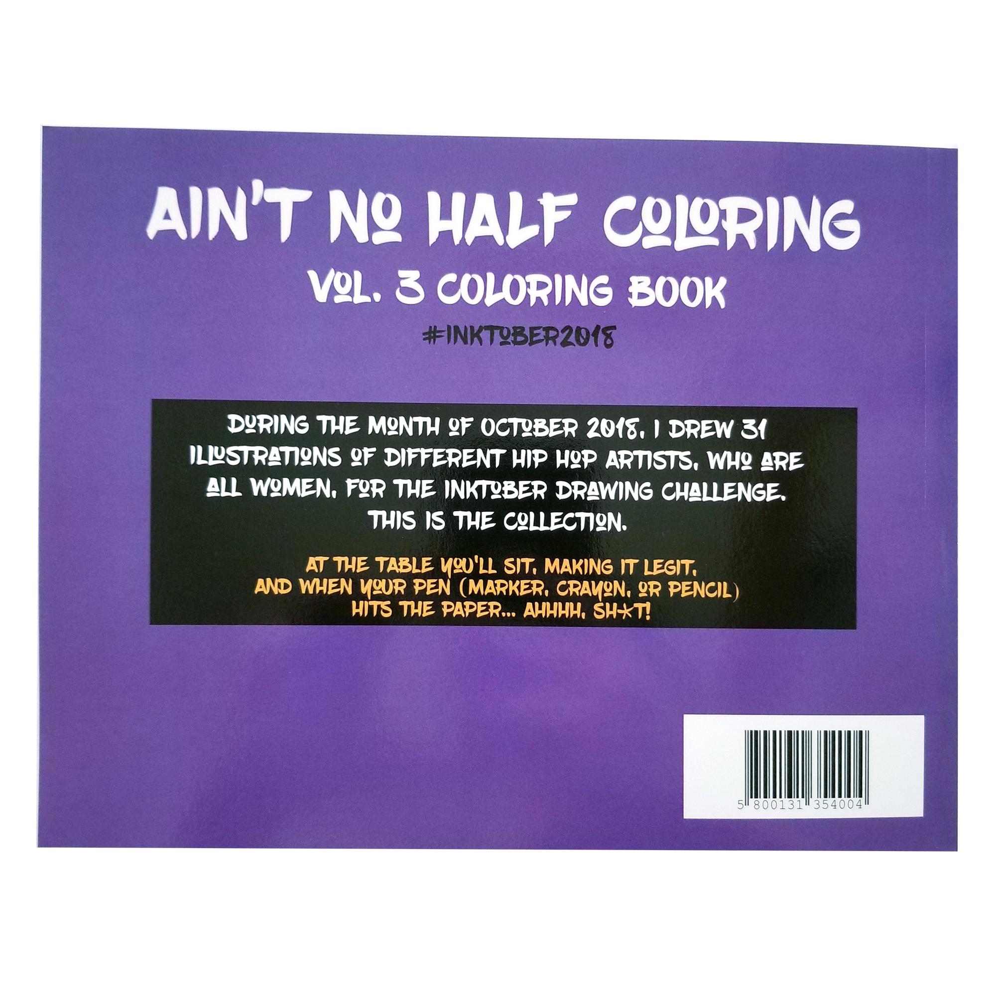 Ain't No Half Coloring (vol. 3)
