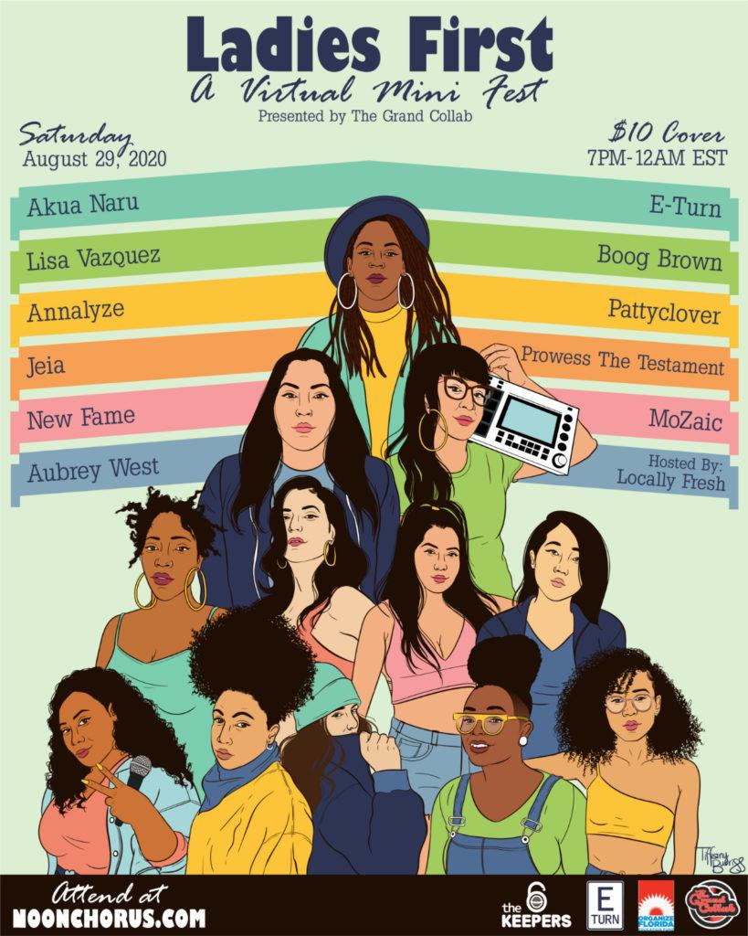 Ladies First flyer