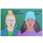 Blimes & Gab mini art print