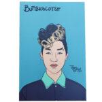 Butterscotch mini art print