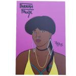 Farrah Fawx mini art print