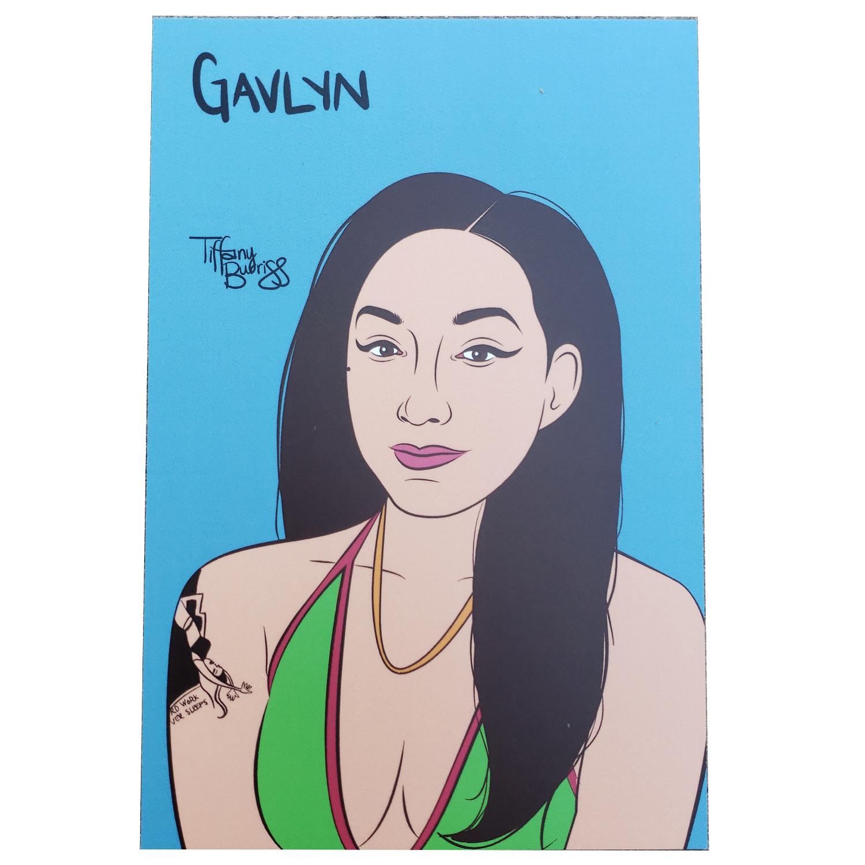 Gavlyn mini art print