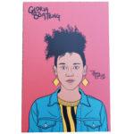 Gloria Boateng mini art print