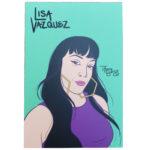 Lisa Vazquez mini art print