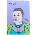 Mx Lee mini art print