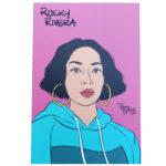 Rocky Rivera mini art print