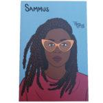 Sammus mini art print