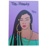Tiye Phoenix mini art print